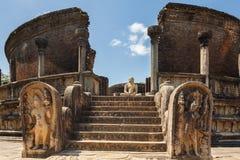 Polonnaruwa Vatadage Royalty Free Stock Photo