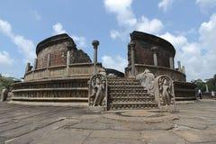 Polonnaruwa Vatadage Immagine Stock Libera da Diritti