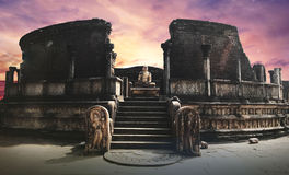 Polonnaruwa Vatadage Royalty-vrije Stock Fotografie