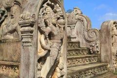 Polonnaruwa Vatadage, Polonnaruwa στη Σρι Λάνκα Στοκ φωτογραφία με δικαίωμα ελεύθερης χρήσης