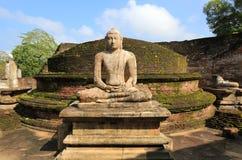 Polonnaruwa Vatadage, Polonnaruwa nello Sri Lanka Immagini Stock Libere da Diritti