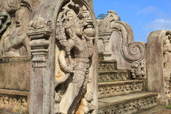 Polonnaruwa Vatadage, Polonnaruwa nello Sri Lanka Fotografia Stock Libera da Diritti