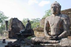 Polonnaruwa Vatadage site Sri Lanka.  Royalty Free Stock Photography