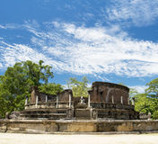 Polonnaruwa Vatadage, Sri Lanka. Polonnaruwa Vatadage (Round House), World Heritage site, Sri Lanka Royalty Free Stock Photo