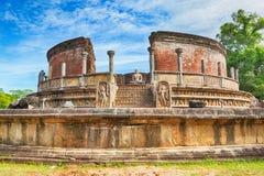 The Polonnaruwa Vatadage. Royalty Free Stock Photo