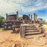 The Polonnaruwa Vatadage. Stock Images