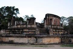 Polonnaruwaen - medeltida huvudstad av Sri Lanka Royaltyfri Bild