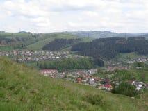 Polonyny Carpathian Mountains Royalty Free Stock Photo