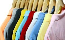 Polooverhemden Stock Foto's