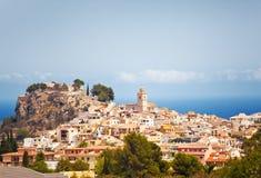 Polop de la Marina, Spain Royalty Free Stock Photos