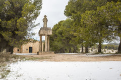 Polop Hermitage Alcoy, Alicante, Spain Royalty Free Stock Photography