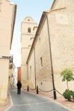 Polop village,Bernia mountains,Alicante Stock Images