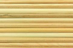 Polos de madeira como um fundo Fotografia de Stock