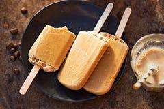 Polos helados del café Foto de archivo libre de regalías