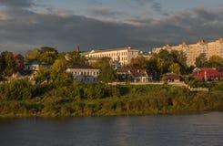 Polotsk A cidade bielorrussa antiga Imagem de Stock