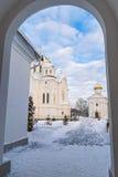 Polotsk Spaso-Euphrosyne convent Stock Photo