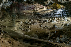Polovragi-Höhle in Rumänien Lizenzfreie Stockfotografie