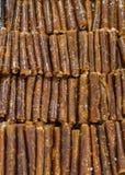 Polpa secada do fruto como o alimento de petisco Imagem de Stock Royalty Free