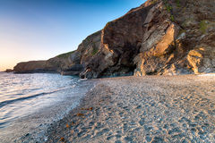 Polpeor Cove at Lizard Point Stock Images