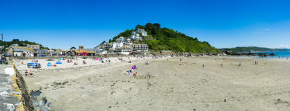 Looe Beach Royalty Free Stock Photos
