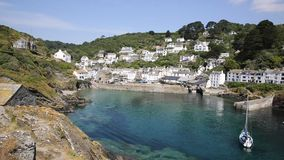 Polperro Cornwall England UK Stock Photos