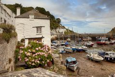 Polperro, Cornwall Royalty Free Stock Photography