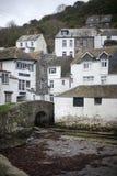 Polperro Fishing Village in Cornwall Stock Photos