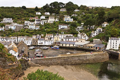 Free Polperro Fishing Village Cornwall England UK Stock Photography - 37091292