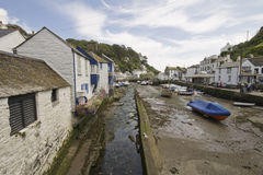 Polperro harbour, Cornwall Stock Images
