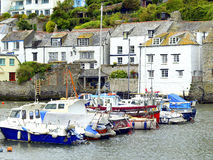 Polperro harbour, South Cornwall. Stock Photo