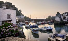 Polperro Harbour Royalty Free Stock Image