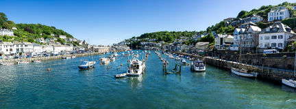 Looe Harbour Stock Image