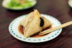 Polpetta glutinosa del riso immagini stock libere da diritti