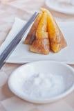Polpette cinesi del riso dello spuntino Fotografie Stock Libere da Diritti