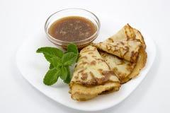 Polpette con salsa al pomodoro Fotografie Stock