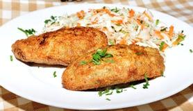 Polpette della patata un contorno Fotografie Stock