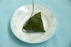 Polpette in fogli di bambù Fotografie Stock Libere da Diritti