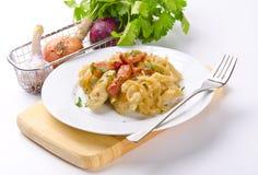 Polpette Slesiane della patata Fotografia Stock