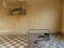 Polpots Gefängnis lizenzfreie stockbilder
