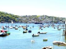 Polruan, Cornwall. zdjęcie royalty free