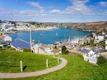 Polruan Cornwall England Stock Photo