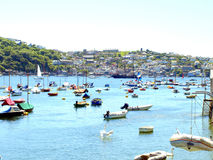 Polruan, Cornwall. Royalty Free Stock Photo