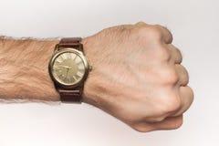 Pols met horloge Stock Afbeeldingen