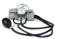 Polsino di pressione sanguigna Immagine Stock