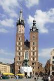Polsk arkitektur Arkivfoton