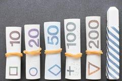 Polsk finansiell utbildning Fotografering för Bildbyråer