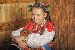 Polsk flicka Royaltyfria Bilder