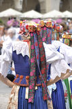 Polsk folkdräkt royaltyfri fotografi