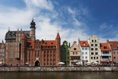 Polsk gotisk arkitektur Arkivfoto