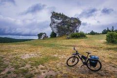 Polsk Jura region royaltyfri fotografi